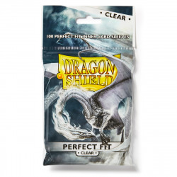 Dragon Shield - Perfect Fit 100 Sleeves - Clear