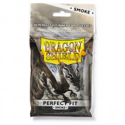 Dragon Shield - Perfect Fit Sleeves, 100ct - Smoke