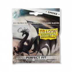 Dragon Shield - Perfect Fit Sideloading Sleeves, 100ct - Smoke