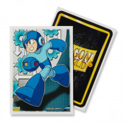 Dragon Shield - Art 100 Sleeves - Mega Man