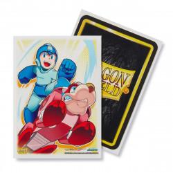 Dragon Shield - Art 100 Sleeves - Mega Man & Rushd