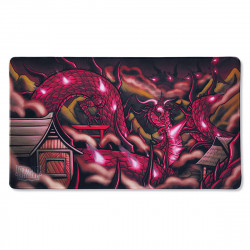 Dragon Shield - Limited Edition Playmat - 'Demato' Slayer Skin