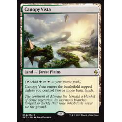 Blätterdach-Panorama