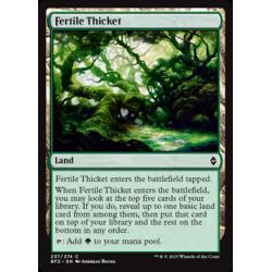 Halliers fertiles