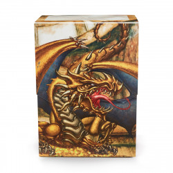 Dragon Shield - Limited Edition Deck Shell - Gold 'Gygex'