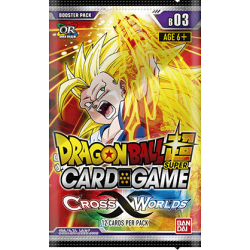 Dragon Ball Super - Series 3 Cross Worlds - Booster Pack