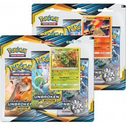 Pokemon - SM10 Alliance Infaillible - Tripack Bundle (Sceptile + Typhlosion)
