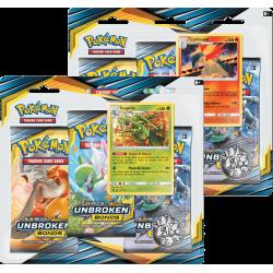 Pokemon - SM10 Legami Inossidabili - 3-Pack Blister Bundle (Sceptile + Typhlosion)