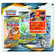 Pokemon - SM10 Unbroken Bonds - 3-Pack Blister Bundle (Sceptile + Typhlosion)