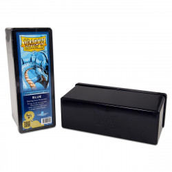 Dragon Shield - Four Compartment Boxes - Blue