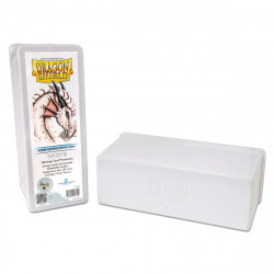 Dragon Shield - Four Compartment Boxes - White