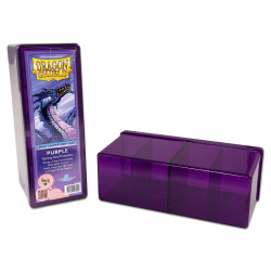 Dragon Shield - Four Compartment Boxes - Purple
