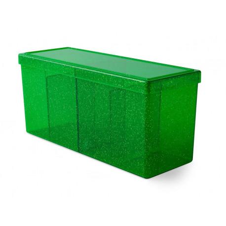 Dragon Shield - Four Compartment Boxes - Emerald