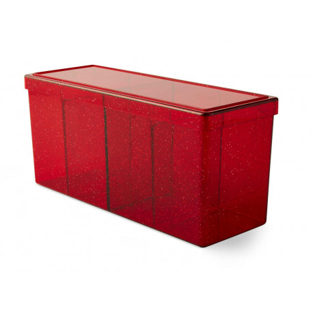 Dragon Shield - Four Compartment Boxes - Ruby
