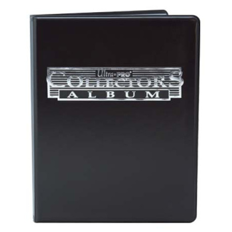 Ultra Pro - 4-Pocket Collectors Portfolio - Black