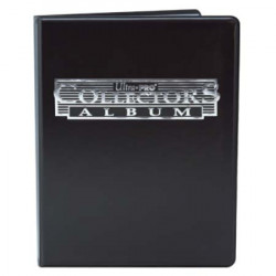 Ultra Pro - 9-Pocket Collectors Portfolio - Black