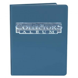 Ultra Pro - 9-Pocket Collectors Portfolio - Blue