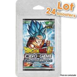Dragon Ball Super - Série 1 Galactic Battle - Boîte de Boosters sous Blister