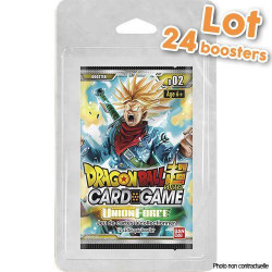 Dragon Ball Super - Série 2 Union Force - Boîte de Boosters sous Blister