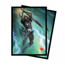 Ultra Pro - War of the Spark 100 Sleeves - Gideon Blackblade