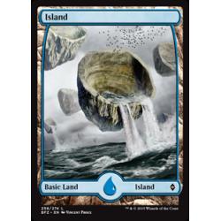 Island (258) - Full Art