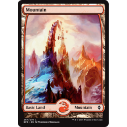 Mountain (267) - Full Art