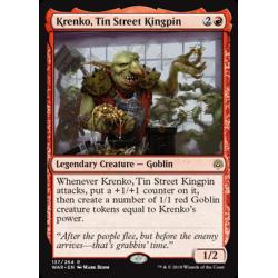 Krenko, Tin Street Kingpin - Foil