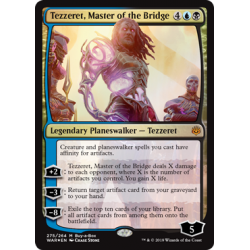 Tezzeret, Master of the Bridge (Buy a Box Promos) - Foil
