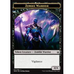 Zombie Warrior Token