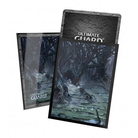 Ultimate Guard - Lands Edition II 100 Sleeves - Swamp