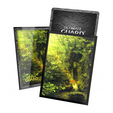 Ultimate Guard - Lands Edition II 100 Sleeves - Forest