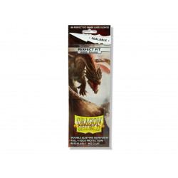 Dragon Shield - Perfect Fit Sealable 100 Sleeves - Smoke 'Yarost'