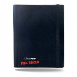 Ultra Pro - 4-Pocket PRO-Binder - Black