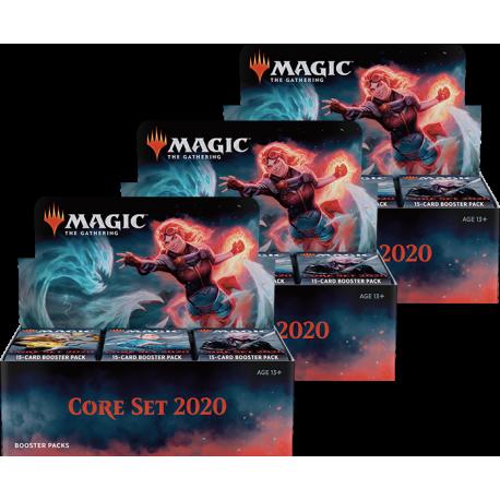 Core Set 2020 - 3x Booster Box