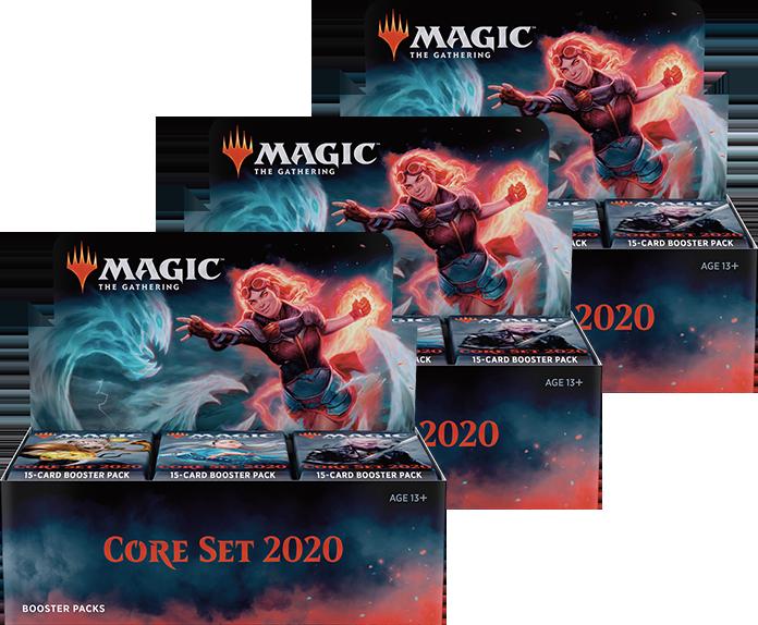 MTG Magic 2020 Core Set 5 Planeswalker Decks Boosters box card PRIORITY SHIP!