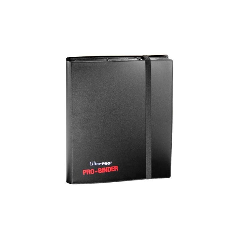 Ultra Pro 9 Pocket Pro Binder Black The Mana Shop