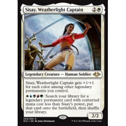 Sisay, Kapitänin der Wetterlicht