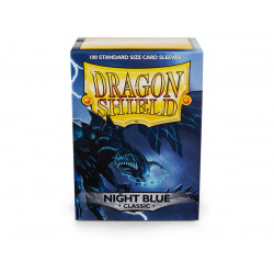 Dragon Shield - Matte 100 Sleeves - Night Blue 'Botan'