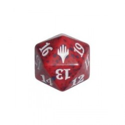 D20 Spindown Die - Duel Decks: Zendikar Vs. Eldrazi - Red