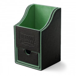 Dragon Shield - Nest+ Deck Box 100 - Black/Green