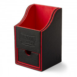 Dragon Shield - Nest+ Deck Box 100 - Black/Red