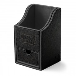 Dragon Shield - Nest+ Deck Box 100 - Black/Black