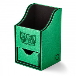 Dragon Shield - Nest+ Deck Box 100 - Green/Black