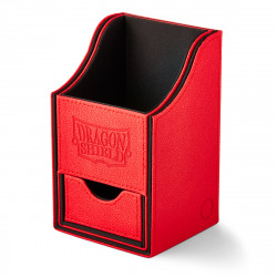 Dragon Shield - Nest+ Deck Box 100 - Red/Black