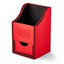 Dragon Shield - Nest+ Deck Box 100 - Red/Black