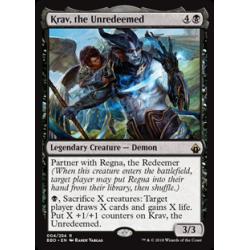 Krav, the Unredeemed