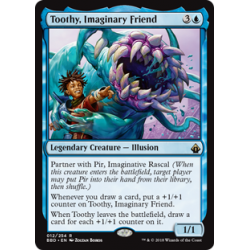 Toothy, Imaginary Friend