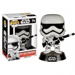 Funko POP! Star Wars Episode VII The Force Awakens - First Order Stormtrooper with Blaster Vinyl Figure 10cm Exclusive limited
