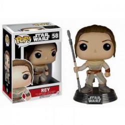 Funko POP! Star Wars Episode VII The Force Awakens - Rey Vinyl Figure 10cm