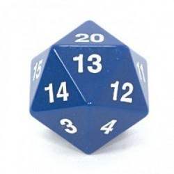 Koplow - Countdown D20 55mm (Massive!) - Pick your Color